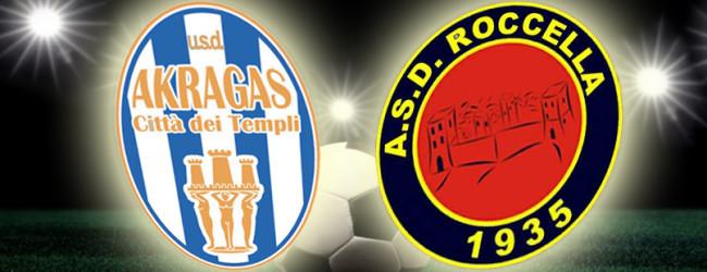 Calcio, Akragas: buon pari contro il Roccella e più cinque sul Torrecuso