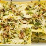 Lasagne primosale e zucchine: un primo per tutte le stagioni