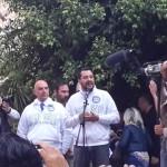 Amministrative, Salvini comizia ad Agrigento con Marcolin – FOTO E VIDEO