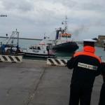 Esercitazione antincendio nell'area portuale di Porto Empedocle