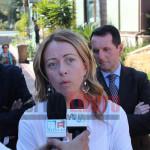 Giorgia Meloni infiamma Agrigento: il tour della sua visita – FOTO