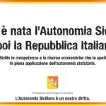 Sicilia, ricorre domani il 69° anniversario dell'Autonomia Siciliana: le manifestazioni in programma.