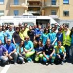 Gli infermieri agrigentini e il Collegio Ipasvi in protesta a Palermo