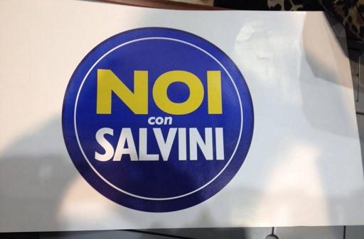 Noi con Salvini (con Diventerà bellissima)