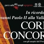 """Agrigento, al via la X edizione di """"Cori in Concordia"""""""