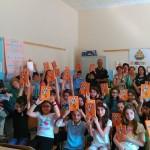 """Aragona: La Polizia di Stato consegna """"Il Mio Diario"""" agli alunni del Capuana"""