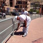 Agrigento, pulizie straordinarie: intervento di Di Rosa