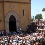 Agrigento piena di fedeli per la domenica conclusiva in onore di San Calogero – SEGUI LA DIRETTA