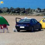 San Leone: sloggiati incivili che occupavano la spiaggia con tende, gazebo e auto