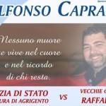 Raffadali, mercoledì il memorial in ricordo di Alfonso Capraro