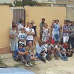 Demolizione a Maddalusa: le ruspe continuano fra le proteste dei residenti