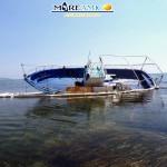 Barca abbandonata nel paradiso di Torre Salsa – VIDEO