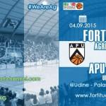 Basket, stasera la Fortitudo Moncada Agrigento contro la APU GSA Udine – SEGUI LA DIRETTA STREAMING