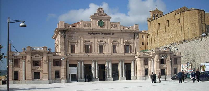 Risultati immagini per stazione centrale agrigento