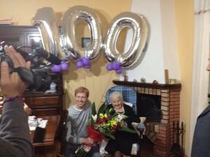 Pompilia Bennici di 100 anni