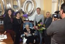 Agrigento, compie 100 anni e riceve la visita del sindaco Firetto
