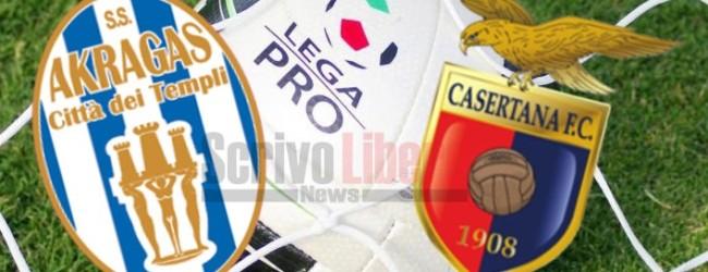 Akragas-Casertana, al via la prevendita dei biglietti