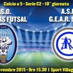 Calcio a 5: l'Akragas Futsal incontra la capolista GEAR Sport – SEGUI LA DIRETTA