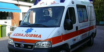 Agrigento, ciclista ferito dopo scontro con auto