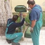 Agrigento, nuovi cestini dei rifiuti in città