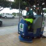 Agrigento: pulizia intensificata al Viale della Vittoria e decespugliamento nel centro storico