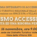 """Turismo Accessibile: oggi si presenta il sistema integrato """"FOR ALL"""""""