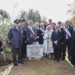 Nella Valle dei Templi di Agrigento, l'Albero dei Giusti in ricordo di padre Pino Puglisi
