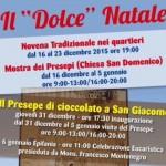 "Agrigento, il ""Presepe di cioccolato a San Giacomo"""