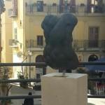 Agrigento, esposta l'opera Evadne di Piero Zambuto