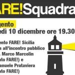 Agrigento: Marco Marcolin, Emanuele Prataviera ed il Movimento FARE! Sicilia, incontrano la cittadinanza