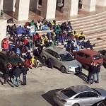 Migranti in protesta ad Agrigento: Comune, Caritas e Lions prestano assistenza