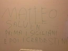 Vandalizzato l'Ospedale di Agrigento: imbrattate di scritte le pareti dei reparti – FOTO