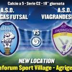 """Calcio a 5: l'Akragas Futsal nel nuovo """"tempio"""" dello SportVillage contro la Viagrandese – SEGUI LA DIRETTA"""