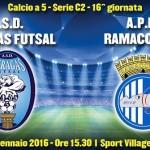 Calcio a 5: oggi l'Akragas Futsal contro la Ramacchese – SEGUI LA DIRETTA
