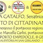 Reddito di cittadinanza e Welfare, domani a Porto Empedocle la senatrice Nunzia Catalfo (M5S)