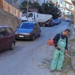 Agrigento, nuovo ciclo di decespugliamento nel centro città