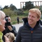 Ad Agrigento la visita del vice presidente del Bundestag Tedesco, Carla Benedikta Roth