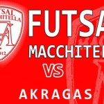 Calcio a 5: oggi l'Akragas Futsal contro la Macchitella – SEGUI LA DIRETTA