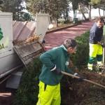 Agrigento, ripresi i lavori di raccolta dei rifiuti della potatura di alberi e piante