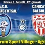 Atteso derby per l'Akragas Futsal contro il Canicattì – SEGUI LA DIRETTA