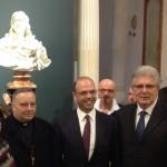 """""""Salvator Mundi"""" ad Agrigento, il M5S contro Alfano: """"autopromozione da parte del ministro dell'Interno"""""""
