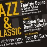 """Agrigento, ancora musica allo SpazioTemenos con """"Jazz&Classic"""""""
