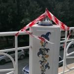 Agrigento, vandali distruggono altri vasi al Viale della Vittoria