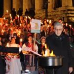 Agrigento, al via il 61° Festival Internazionale del Folklore: acceso il Tripode dell'Amicizia – FOTO
