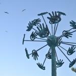 "Arriva ad Agrigento la scultura ""Dandelion"" di Gregory Pototsky – VIDEO"