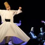 Festival internazionale del Folklore: i Dervisci Rotanti ipnotizzano il pubblico del Teatro Pirandello – VIDEO E FOTO