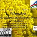 L'AICS con DonnArte al Palazzo Bellacera di Comitini