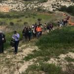 """Successo per la IX giornata nazionale delle """"Ferrovie Non dimenticate"""": 250 escursionisti a Torre Salsa – VIDEO"""