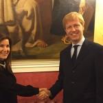 Sagra del Mandorlo in Fiore: il sindaco Firetto riceve l'addetta culturale dell'ambasciata di Turchia