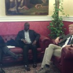 Agrigento, il sindaco Firetto riceve l'ambasciatore del Senegal